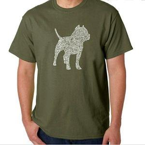 LA Pop Art NWT Pitbull graphic t-shirt